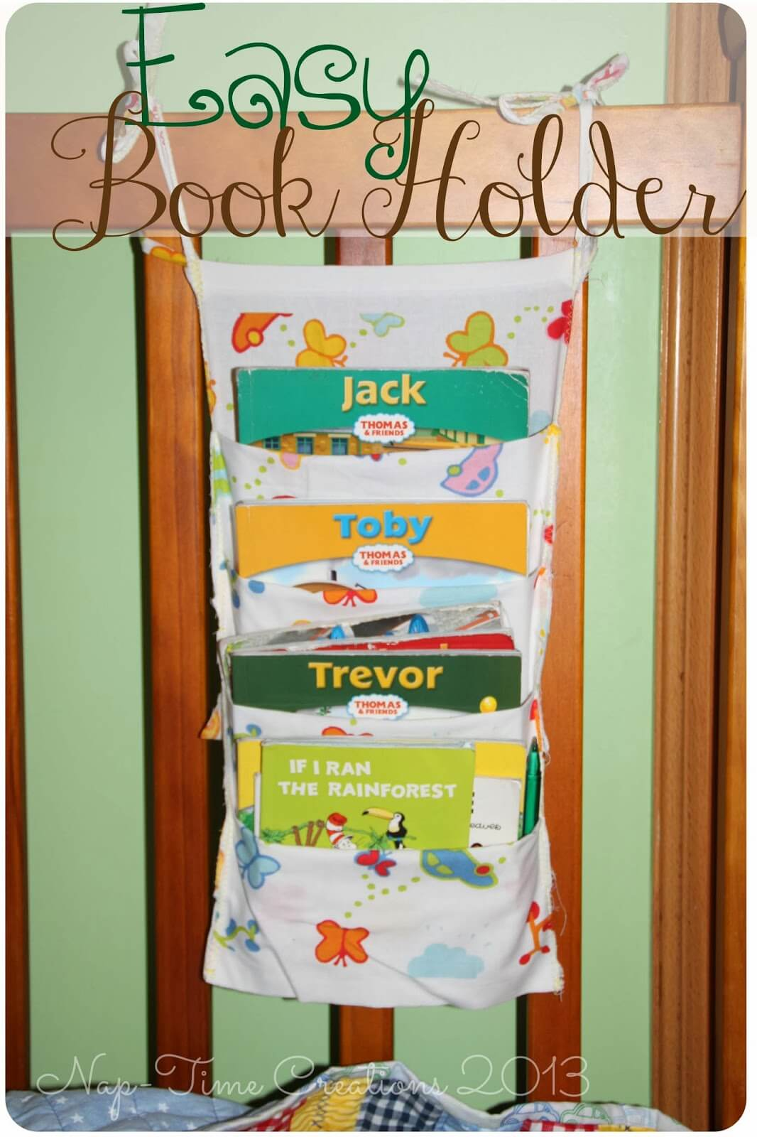Fabric Book hanger