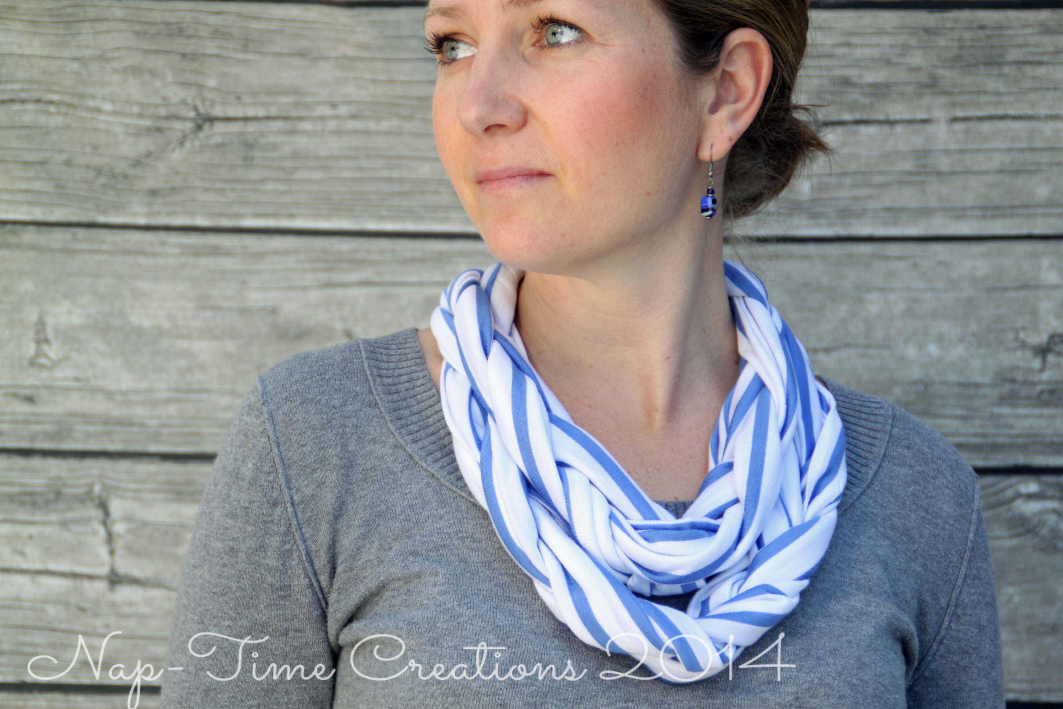 Braided Cowl Sewing Tutorial - Life Sew Savory