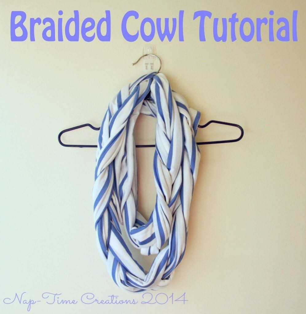 braided cowl sewing tutorial from Life Sew Savory