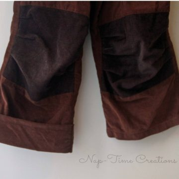 adding a cuff to lengthen pants