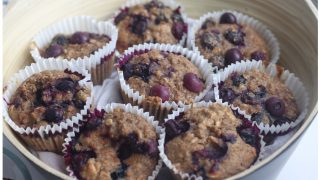 Grape Nut Muffins - with oatmeal and applesauce