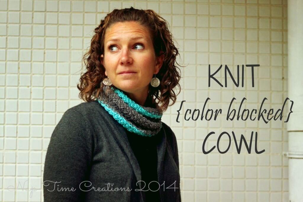 knit cowl pattern