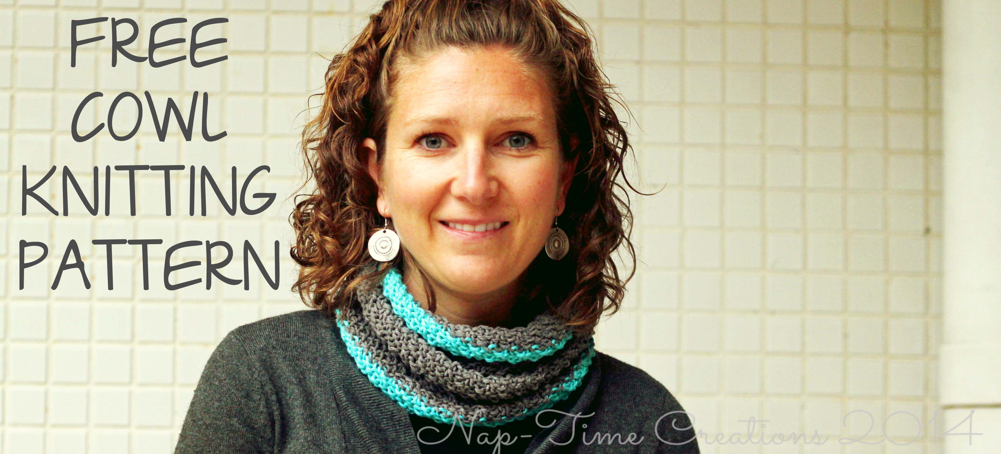 Free Knitting Pattern For Braided Cowl : Braided Cowl Sewing Tutorial - Nap-time Creations