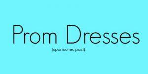 I've never worn a prom dress