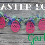 Easter Egg Garland {tutorial}