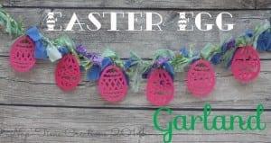 Easter Egg Garland {tutorial}