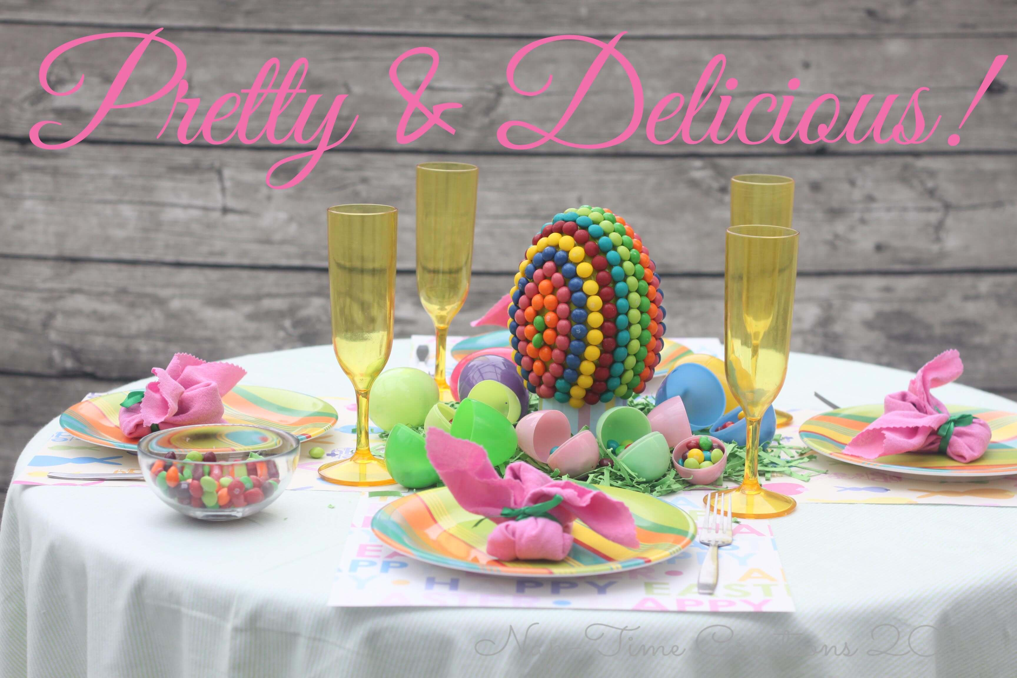 easter table centerpiece candy creation life sew savory