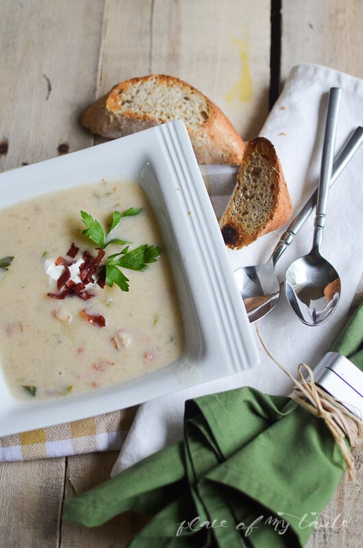 Easy Potato Soup by placeofmytaste.com (1)