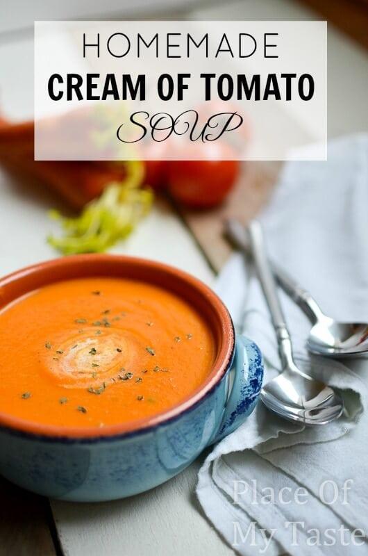 Homemade Tomato- Soup @ placeofmytaste.com-5-2
