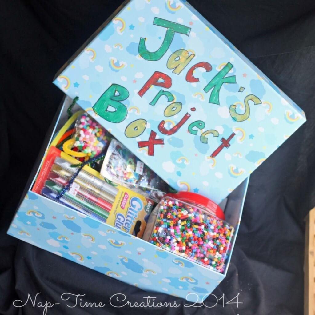 Kids Project Box / www.nap-timecreations.com