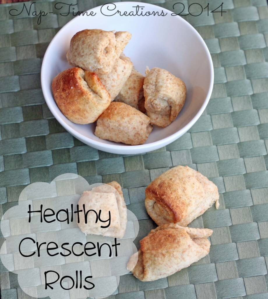 healthy crescent roll recipe