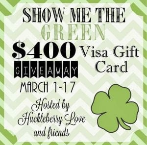 Giveaway Show me the GREEN{closed}