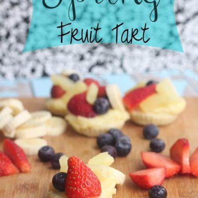 Spring Fruit Tart