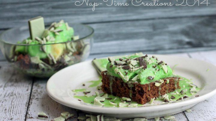 St. Patrick's Day Dessert- topping
