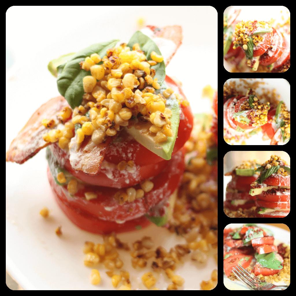 Tomato Stack Salad