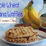 Whole Wheat Waffle recipe {and a GIVEAWAY!}{closed}