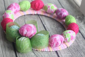 Easter Egg Wreath {tutorial}