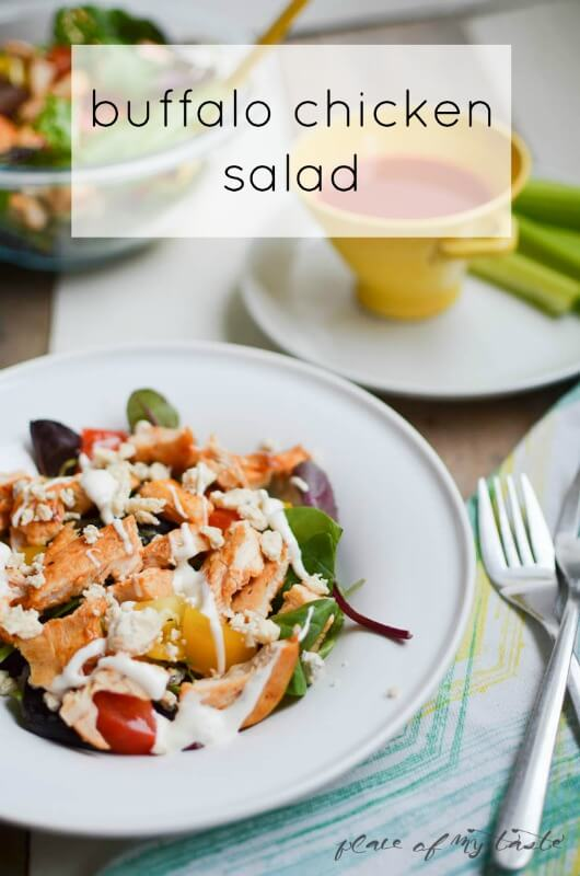BUffalo chicken Salad by Place Of My Taste (1 of 5)