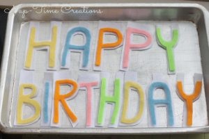 DIY Happy Birthday Banner