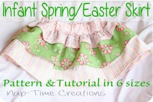 Free pattern: Infant and Toddler Skirt