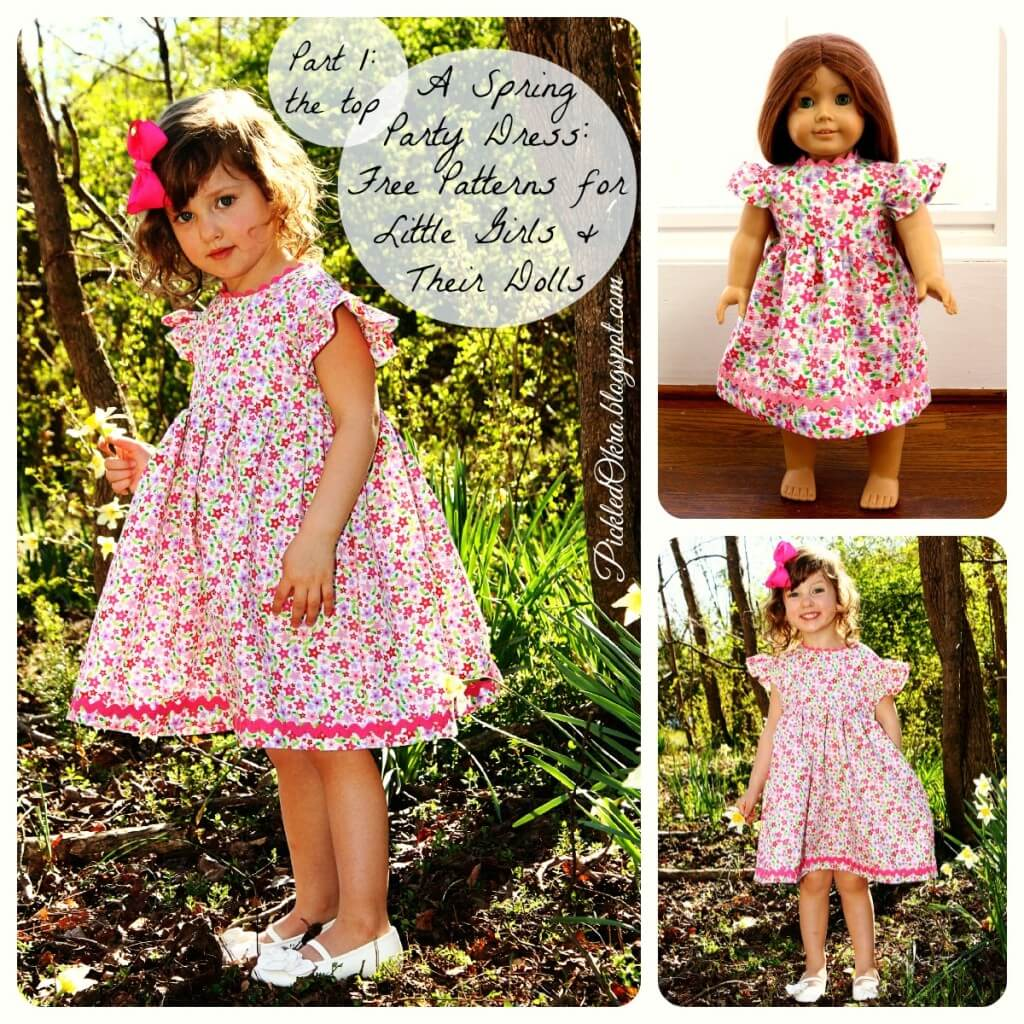 Free Spring Party Dress Patterns - Copy