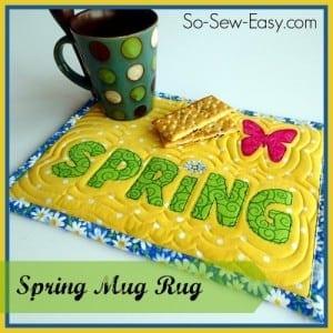 Spring-mug-rug