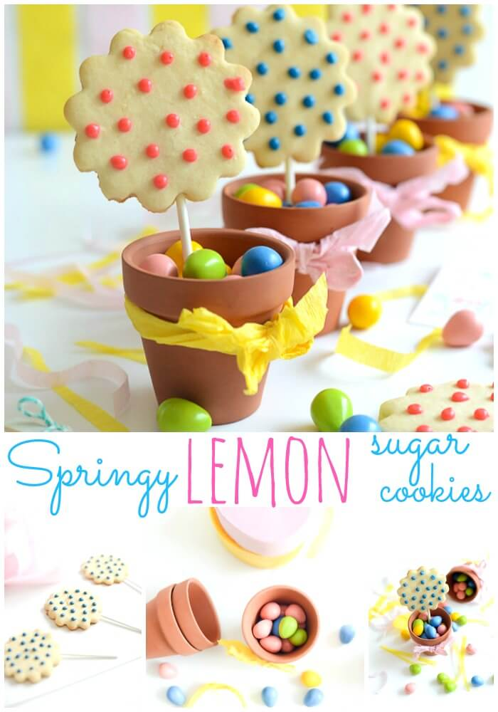 Springy Lemon Sugar Cookies