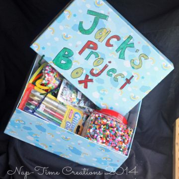 Kids Project/art box