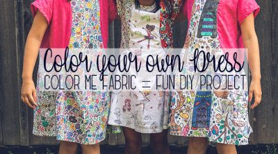 color your own dress