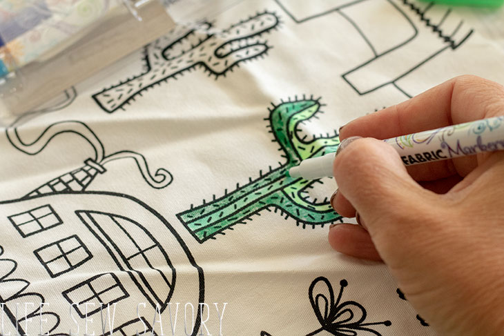 color me fabric ideas
