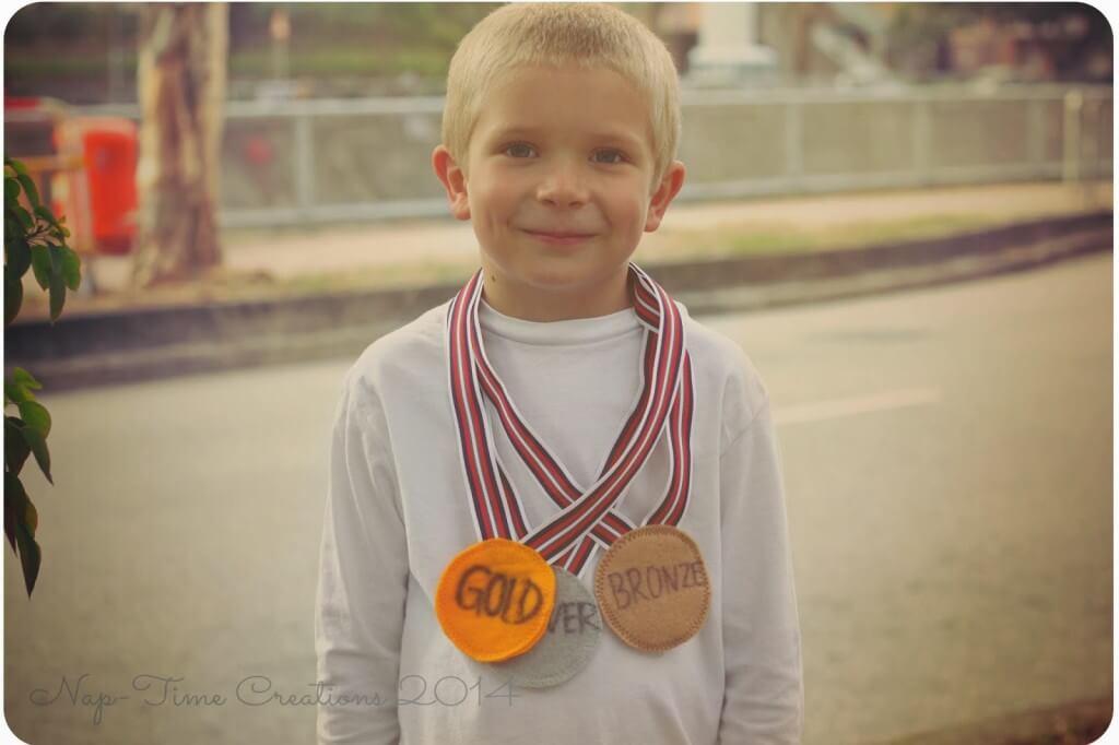 Felt Medals