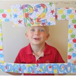 Back to School Photos {Easy Frame}