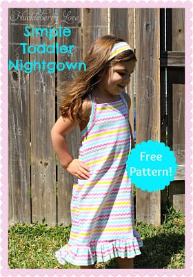 free nightgown pattern - Copy