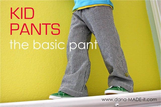 free pants pattern - Copy