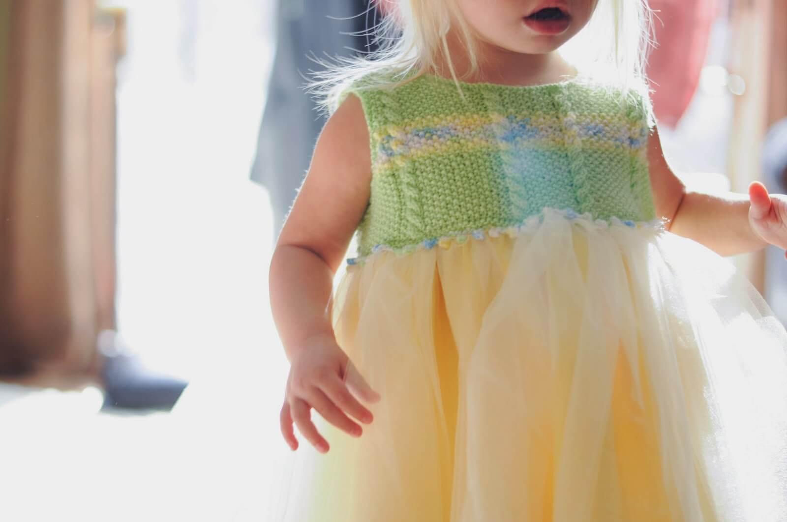 knit pretty dress