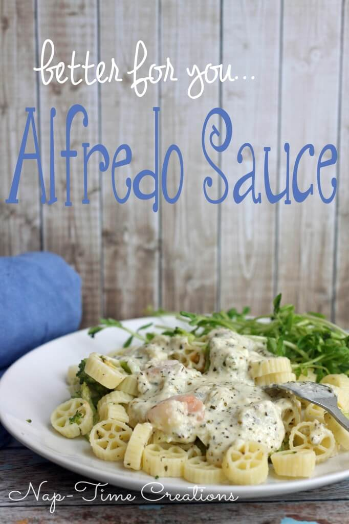 light Alfredo sauce