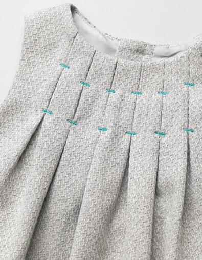 pleated dress - Copy