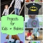 Projects for kids and babies {features}