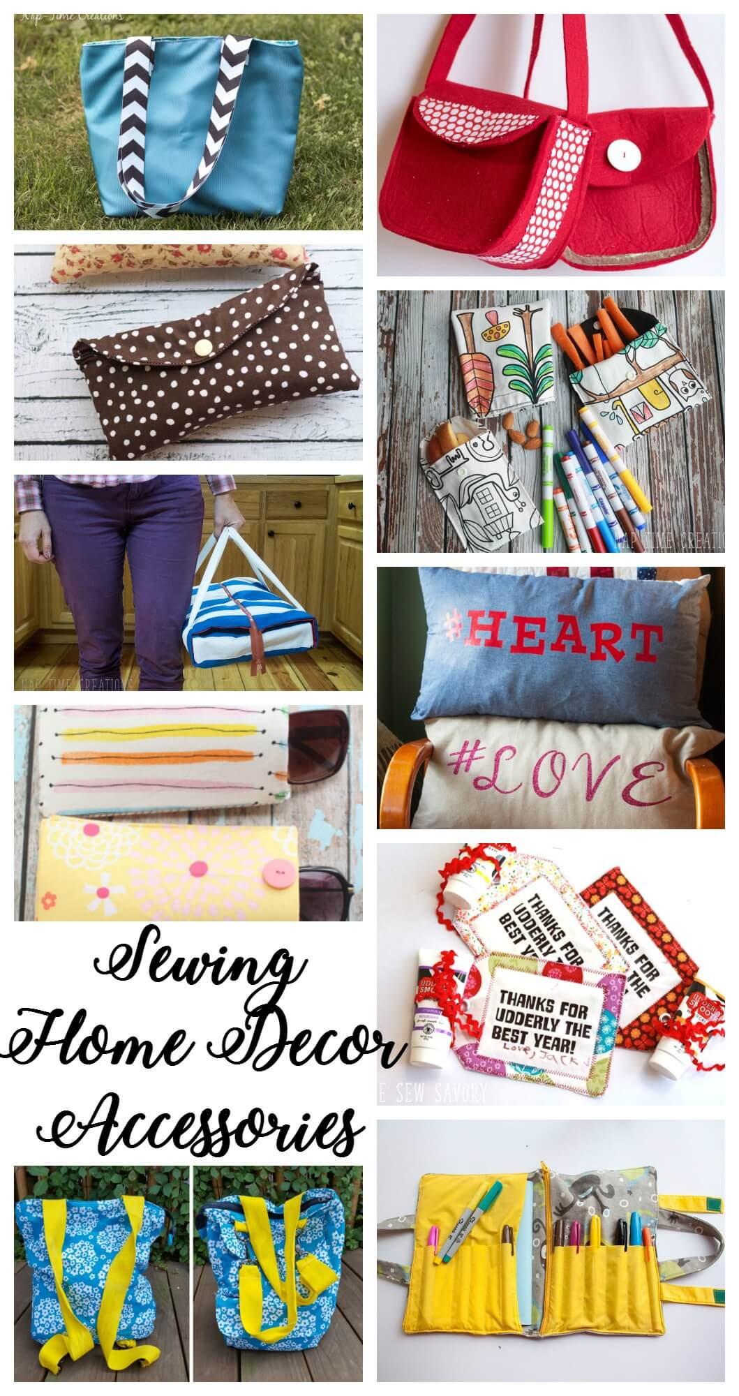 sewing home decor & accessories