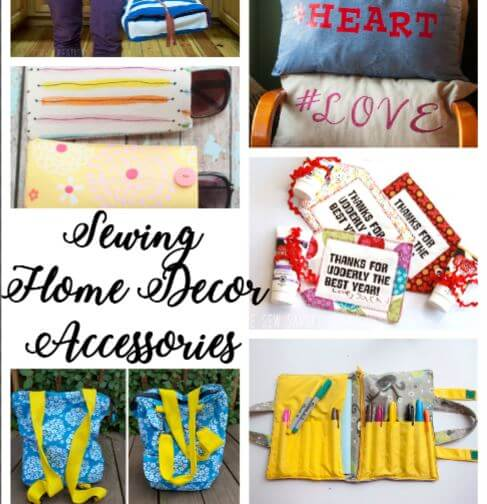 Home Decor Sewing Ideas: Sewing Home Decor & Accessories