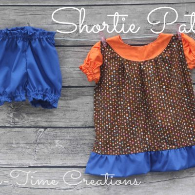 Shortie Nightgown Pattern Tour and Giveaway {closed}