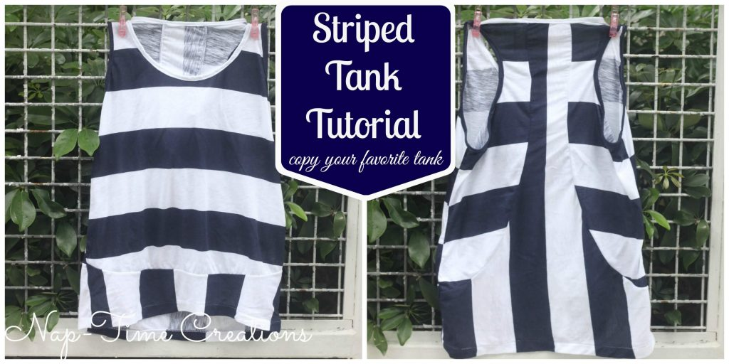 striped tank pattern