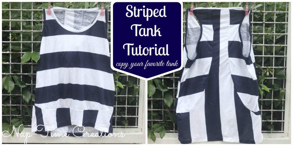striped tank pattern