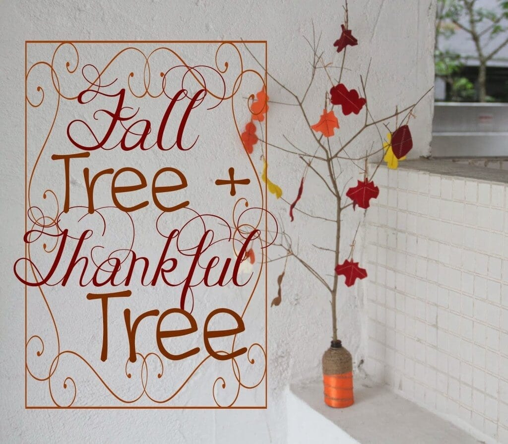 Fall Thankful Tree