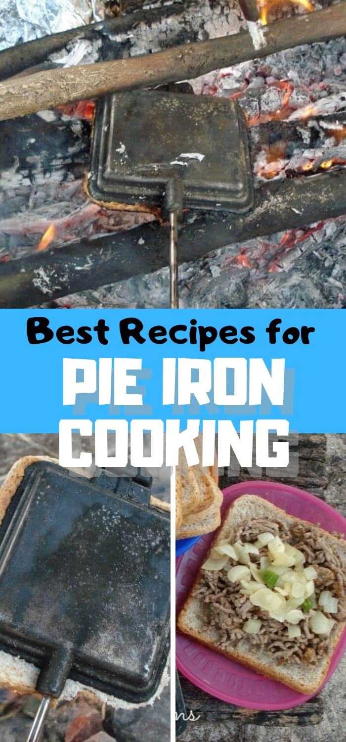 Best Pie Iron Recipes for using a pie cooker over an open fire Camping Recipes from Life Sew Savory #Campingfood #campingrecipes