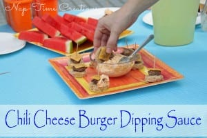 Chili-Cheeseburger-Dipping-Sauce5 #saycheesburger #shop