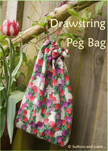 Drawstring Peg Bag