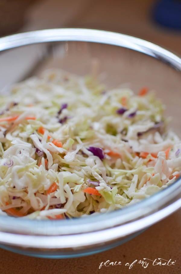 You can find fresh, already shredded cole slaw mix in every grocery ...