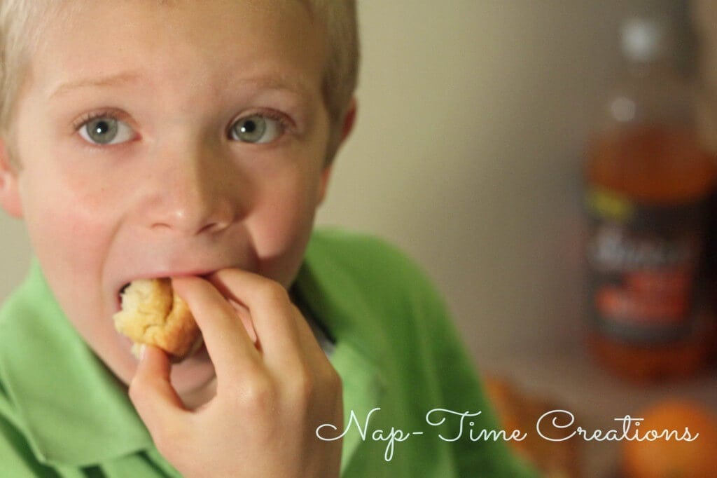 Orange Monkey Bread #FlavorforLess #PMedia