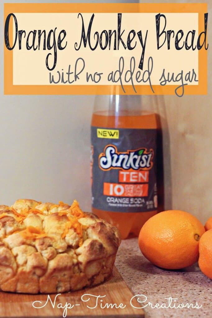 Orange Monkey Bread Recipe #FlavorforLess #PMedia